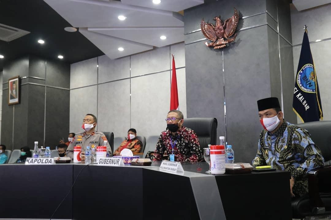 Gubernur Kalbar dan Forkopimda Ikuti Peringatan HANI 2020
