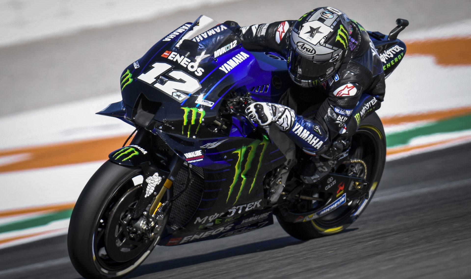 Akui Lagi Fokus Level Dewa, Vinales Malah Naik Motor Rossi