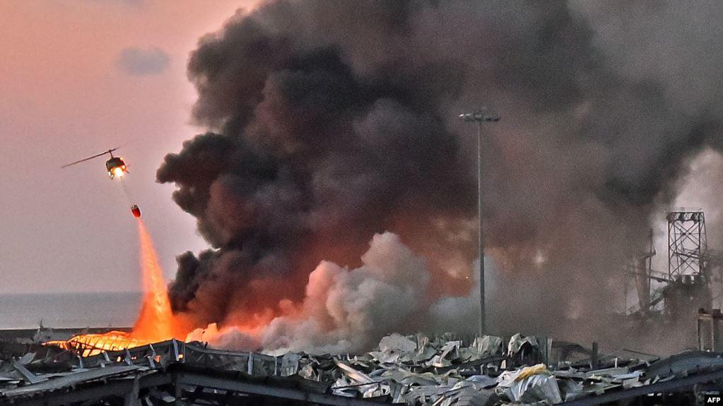 78 Tewas dan Ribuan Cedera dalam Ledakan Hebat di Beirut