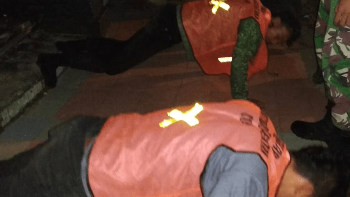 Pemkot Singkawang Gencar Razia Masker, Ada Yang Lari Ke ATM