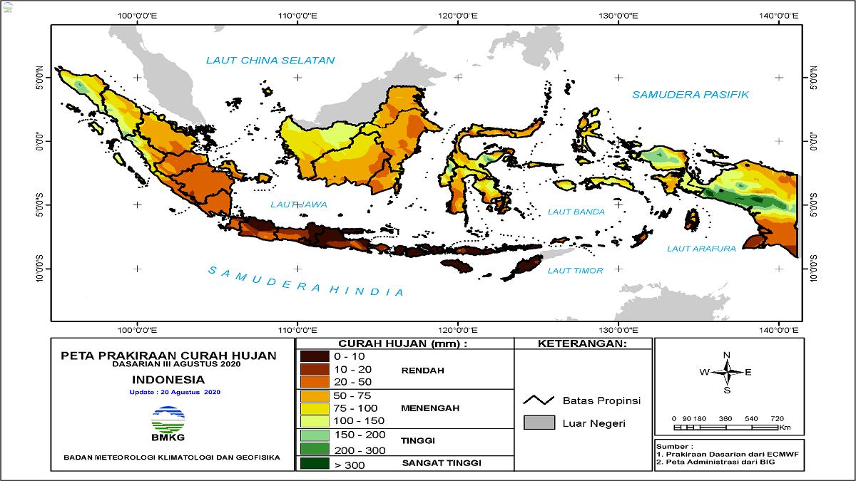 BMKG: Potensi Tsunami Bisa Terjadi di Banyak Wilayah Indonesia