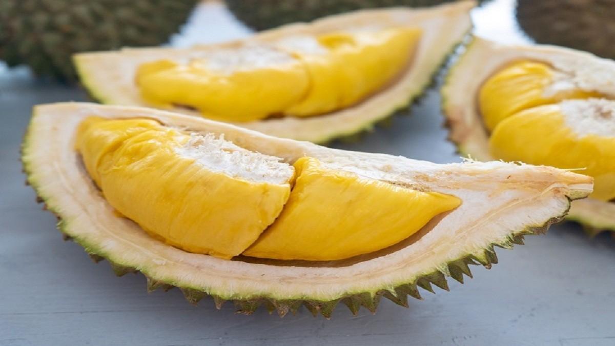 Pertama kalinya durian Indonesia dipamerkan di Luoyang China