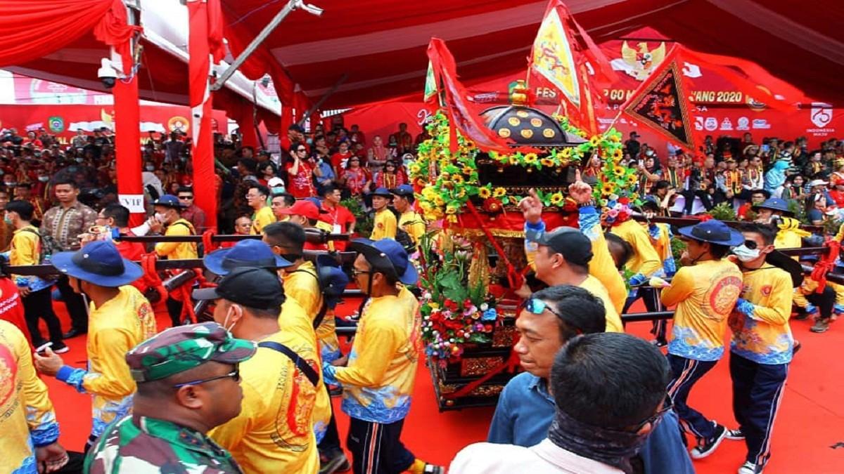 Festival Cap Goh Meh dan Tatung Singkawang ditetapkan sebagai WBTB