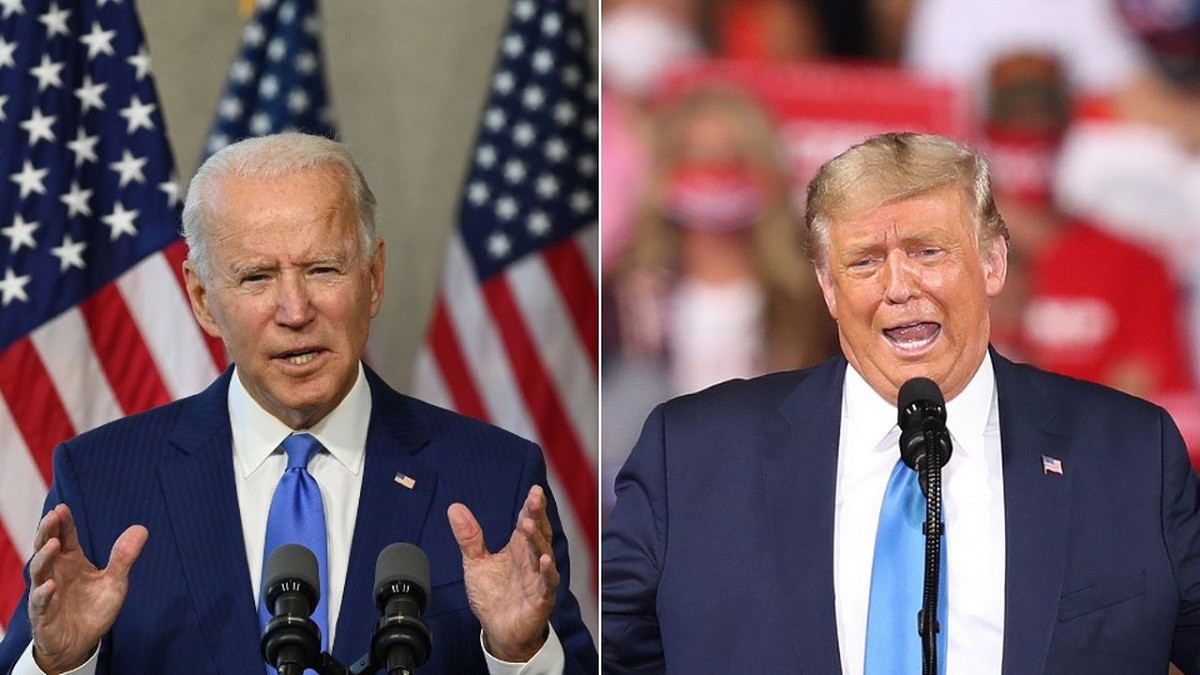 Debat Capres AS Antara Donald Trump dan Joe Biden