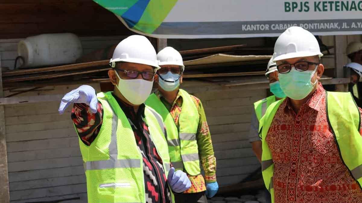 Perkembangan Terkini Pembangunan RSUD Soedarso