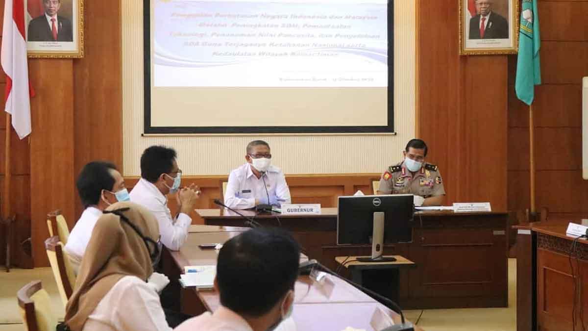 Staf Ahli Kemenko Polhukam Terima Usulan Gubernur Soal Pemekaran Kapuas Raya