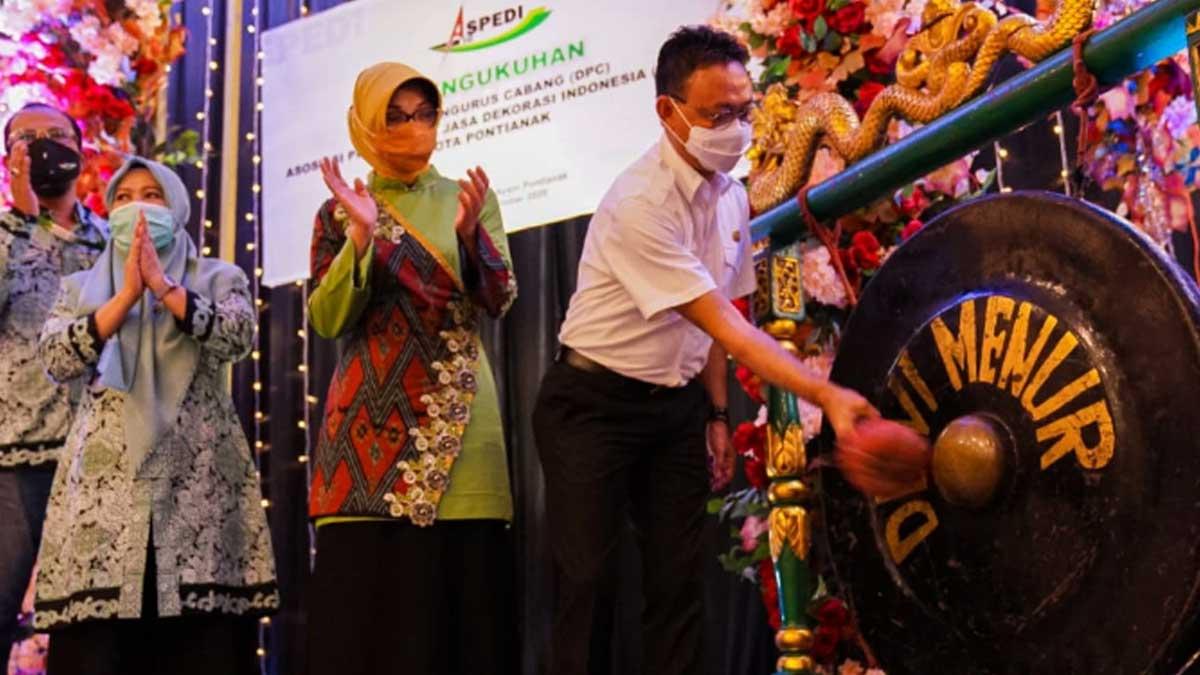 Wali Kota Pontianak Dorong Jasa Dekorasi Tingkatkan Kompetensi