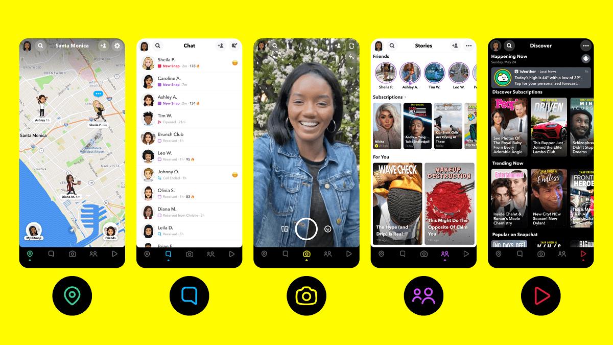 Kini Aplikasi Snapchat Punya Fitur Musik Sendiri