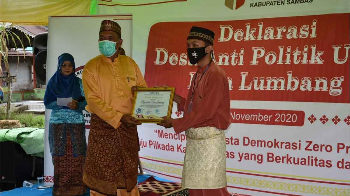 Kabupaten Sambas Deklarasikan Desa Anti Politik Uang