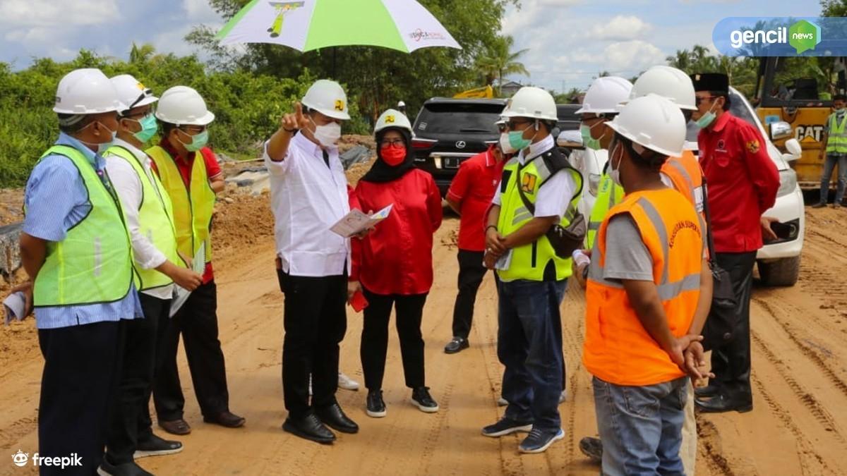 Komisi V DPRRI Prioritaskan Pembangunan Akses Jalan JSBB dan Jembatan Besar Sambas