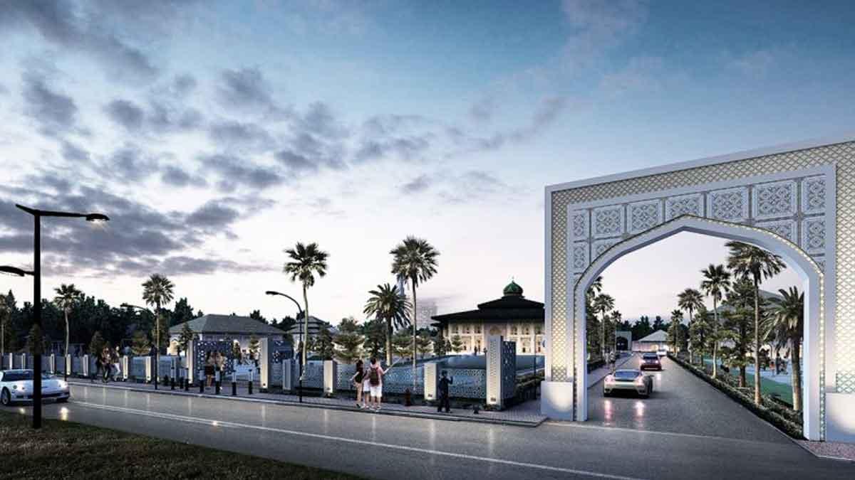 Pembangunan Masjid Agung Singkawang Ditargetkan Selesai Tahun 2022