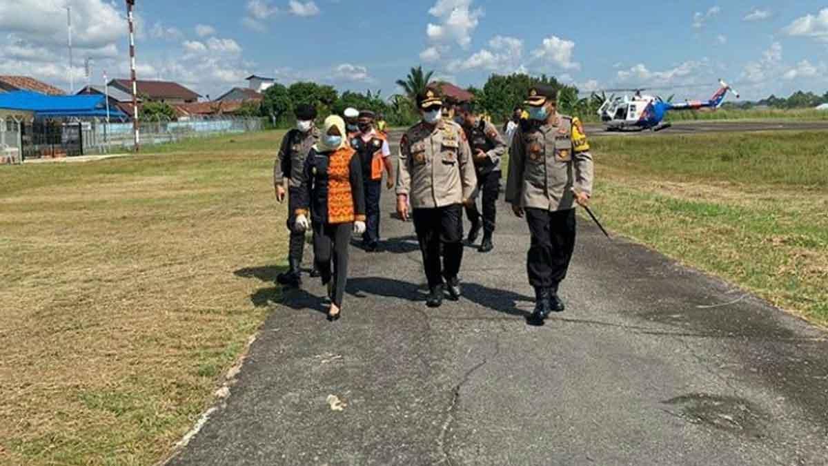 Pemkab Melawi Usulkan Bandara Nangah Pinoh Beroperasi Kembali