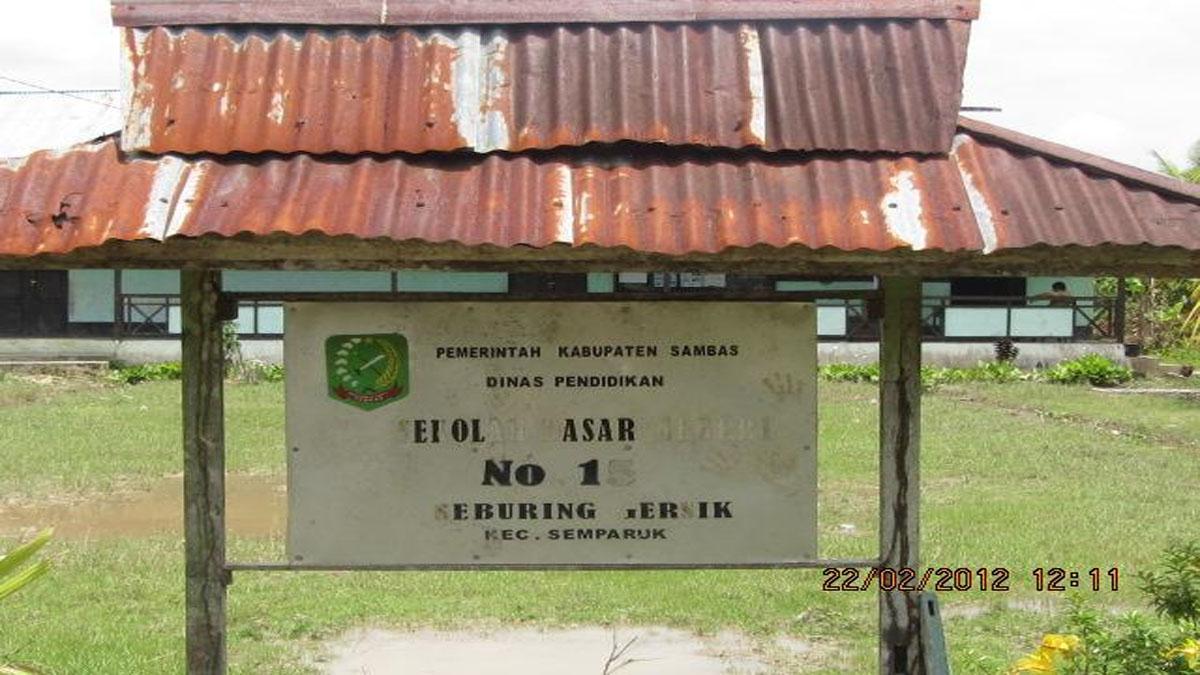 SDN 15 Seburing Gresik Menjadi Prioritas Disdikbud Kabupaten Sambas
