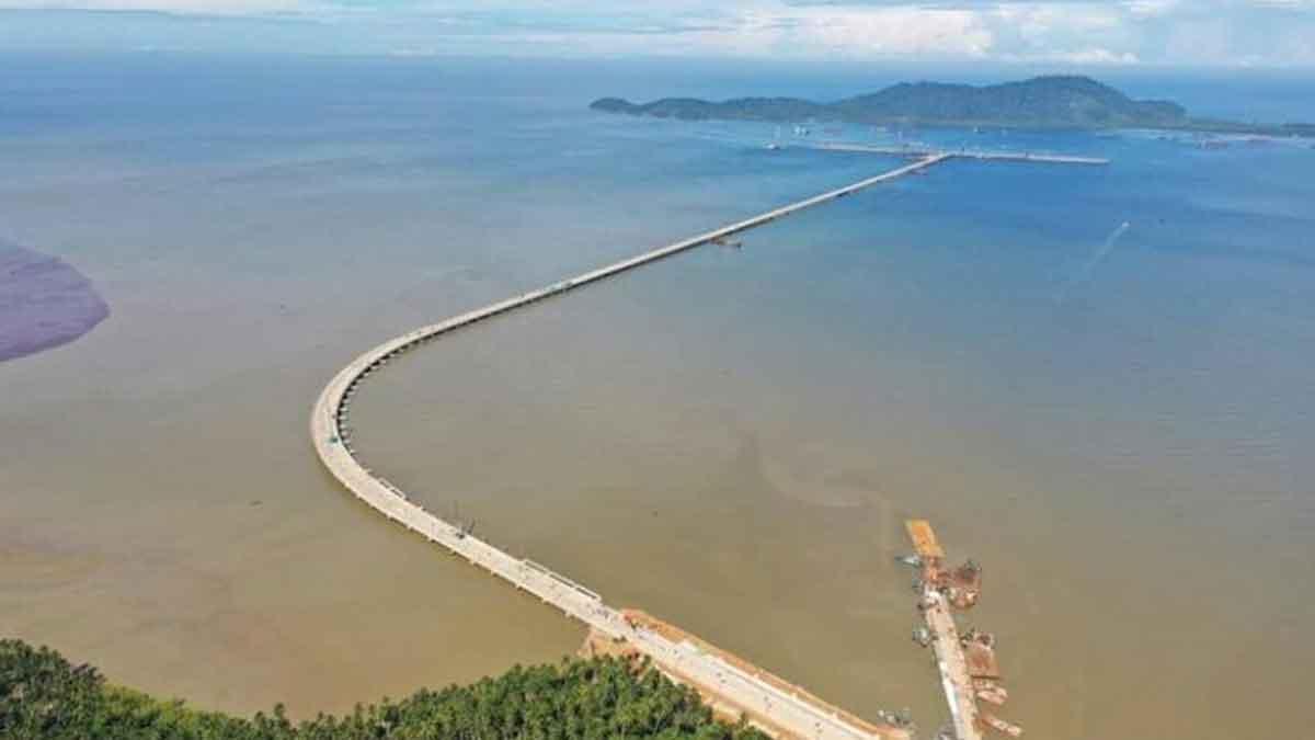 Sutarmidji Tinjau Progres Pembangunan Pelabuhan Kijing Di Mempawah