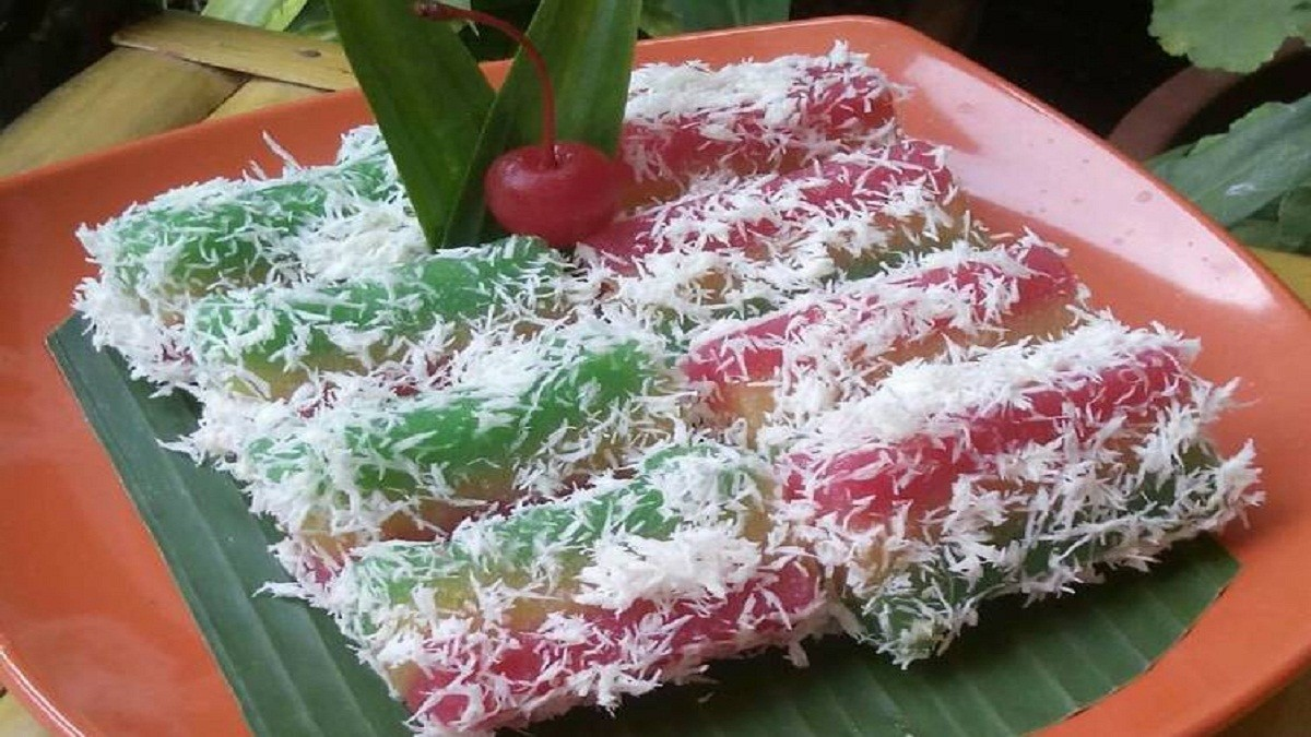 Resep Kreasi Camilan Lapis Singkong Pelangi yang Unik