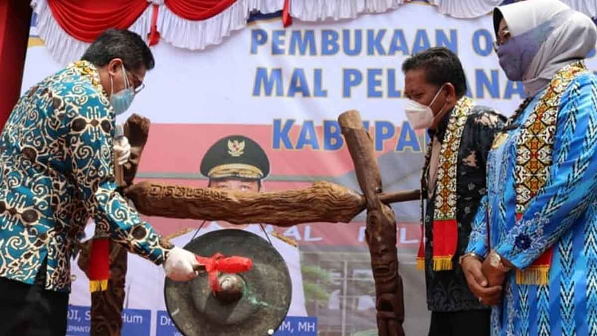 Pembukaan Operasional Mal Pelayanan Publik Kabupaten Sanggau