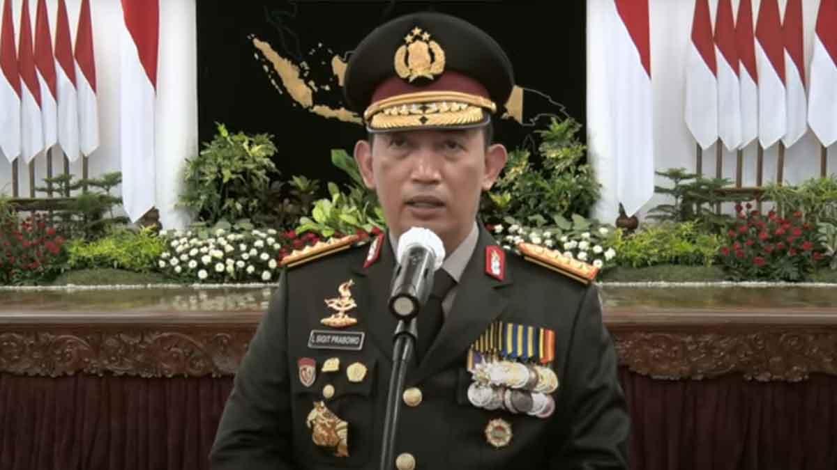 Jenderal Listyo Sigit Prabowo Resmi Menjadi Kapolri ke 25