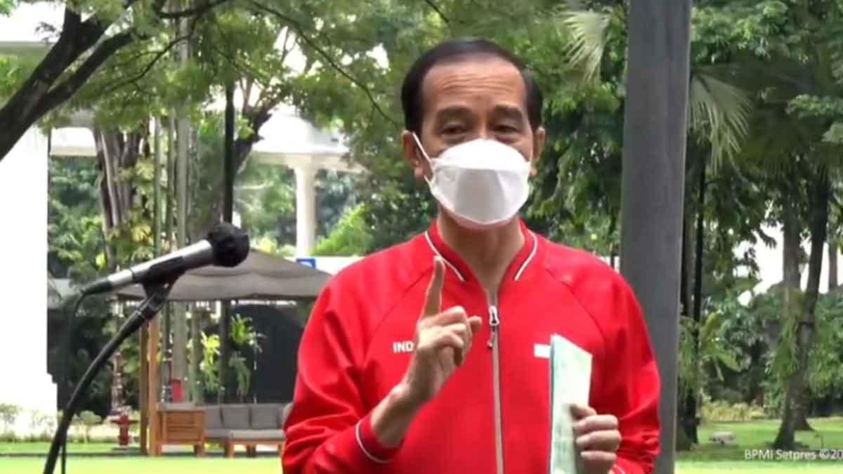 Presiden Jokowi Akui Tidak Terasa Usai divaksin Covid-19