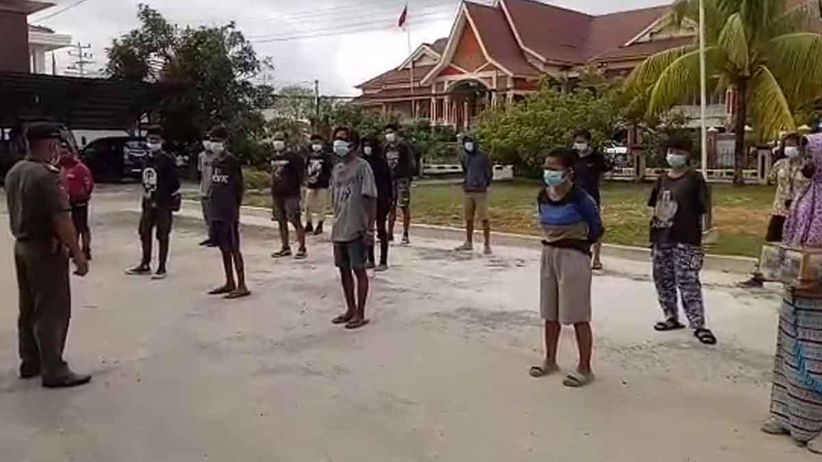 Satpol PP Amankan 20 PMKS di Kota Singkawang