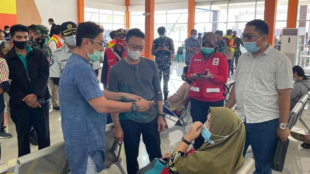 Wali Kota Edi Kamtono Menemui Keluarga Korban SJ182