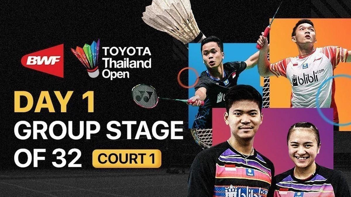 Ahsan dan Hendra Tembus Perempat Final Pada Toyota Thailand Open