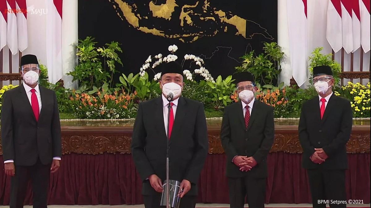 Presiden Jokowi Melantik Dewas dan Direksi BPJS Kesehatan dan Ketenagakerjaan