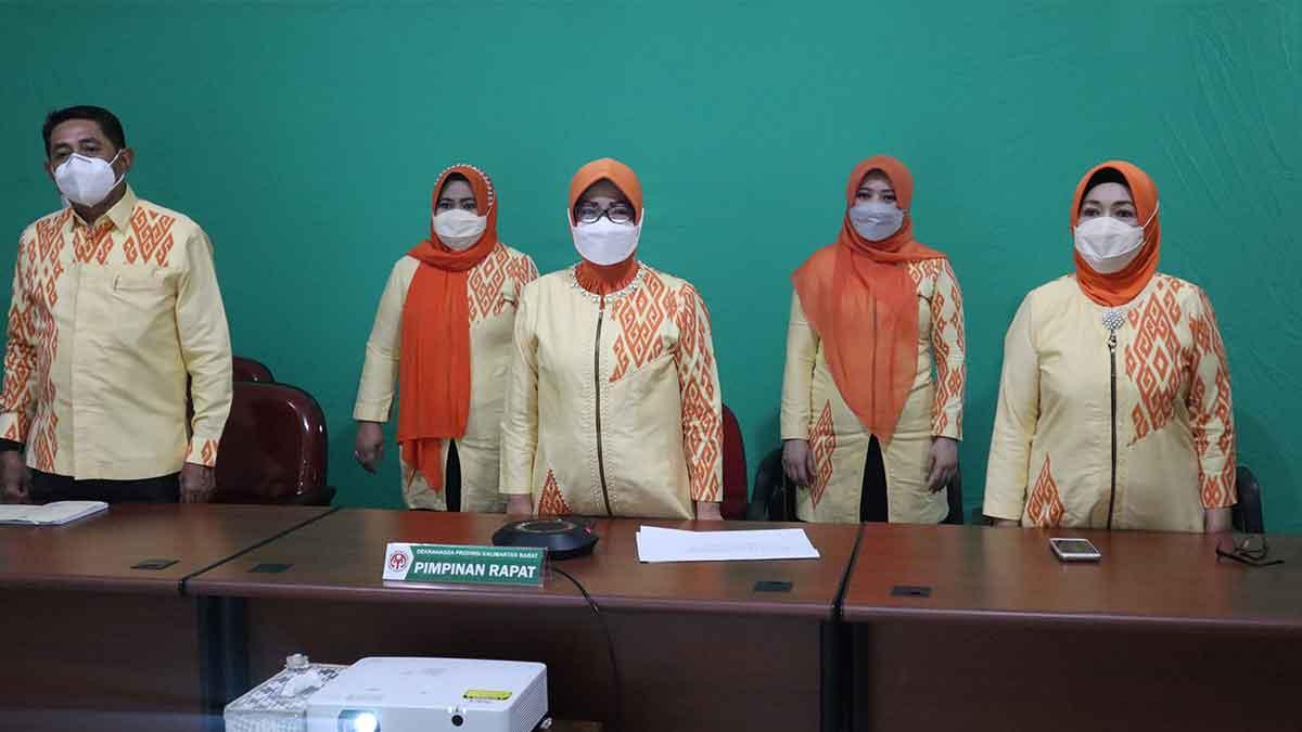 Ketua Dekranasda Kalbar Usulkan Prioritas Vaksin Untuk Pengrajin
